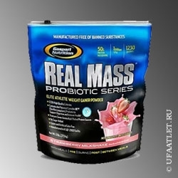 GN - Real Mass Probiotic Series (2724 g) - (Шоколад)
