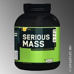 ON - Serious Mass (2727 g) - (Клубника)