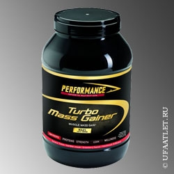 Performance - Turbo Mass Gainer (3000g) - (Ваниль)