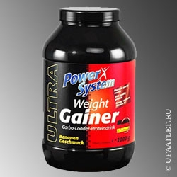 Power System - Ultra Weight Gainer (2000 g) - (Капучино)