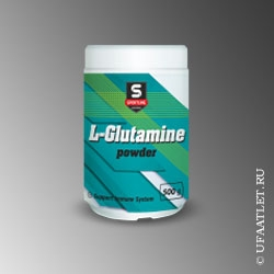 SportLine - L-Glutamine Powder (500g) - (Апельсин)