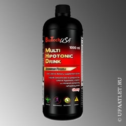 BioTech - Multi hypotonic drink (1000 ml) - (Вишня)