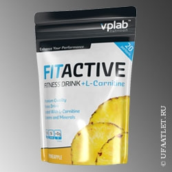 VP Labaratory - FitActive L-Carnitine Fitness Drink (500 g) - (Ананас)