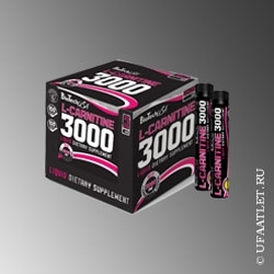 BioTech - Liquid Ampule L-Carnitine 3000mg (20*25ml) - (Апельсин)
