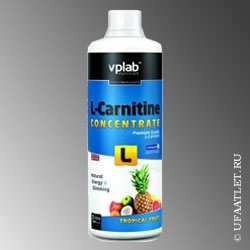 VP Labaratory - L-Carnitine concentrate (1000 ml) - (Тропические фрукты)