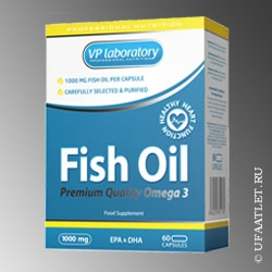 VP Labaratory - Fish Oil 1000mg (60 caps)