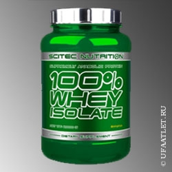 SCITEC NUTRITION - 100% WHEY ISOLATE (2000 g) - (Ваниль)