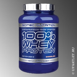 SCITEC NUTRITION - 100% Whey Protein (2350 g) - (Арахис)