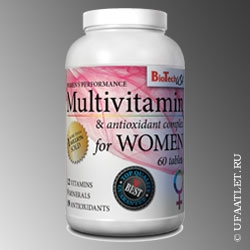 BioTech - Multivitamin for women (60 tab)